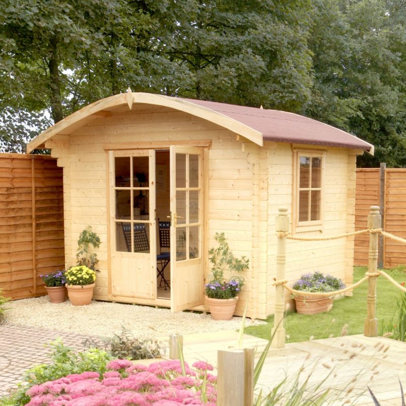 Savernake Cabin Including Assembly (H)2.38 x (W)2.99 x (D)2.39m