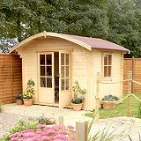 Save on this Savernake Cabin Including Assembly (H)2.38 x (W)2.99 x (D)2.39m