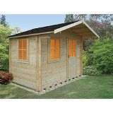 Save on this Selwood Cabin Including Assembly (H)2.5 x (W)2.99 x (D)2.39m