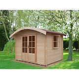Save on this Savernake Cabin Including Assembly (H)2.57 x (W)3.59 x (D)2.99m