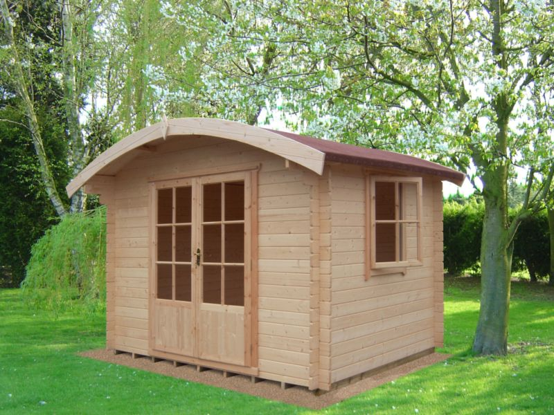 Savernake Cabin Including Assembly (H)2.57 x (W)2.99 x (D)2.99m