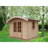 Save on this Savernake Cabin Including Assembly (H)2.57 x (W)2.99 x (D)2.99m