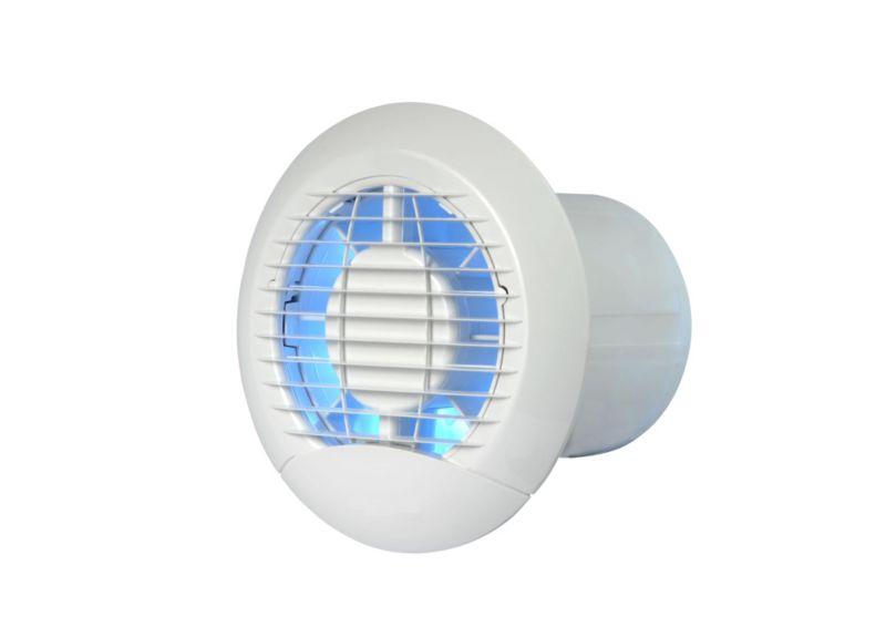 Vent Axia 100mm Timer Eclipse Axial Wall Ceiling Bathroom Fan