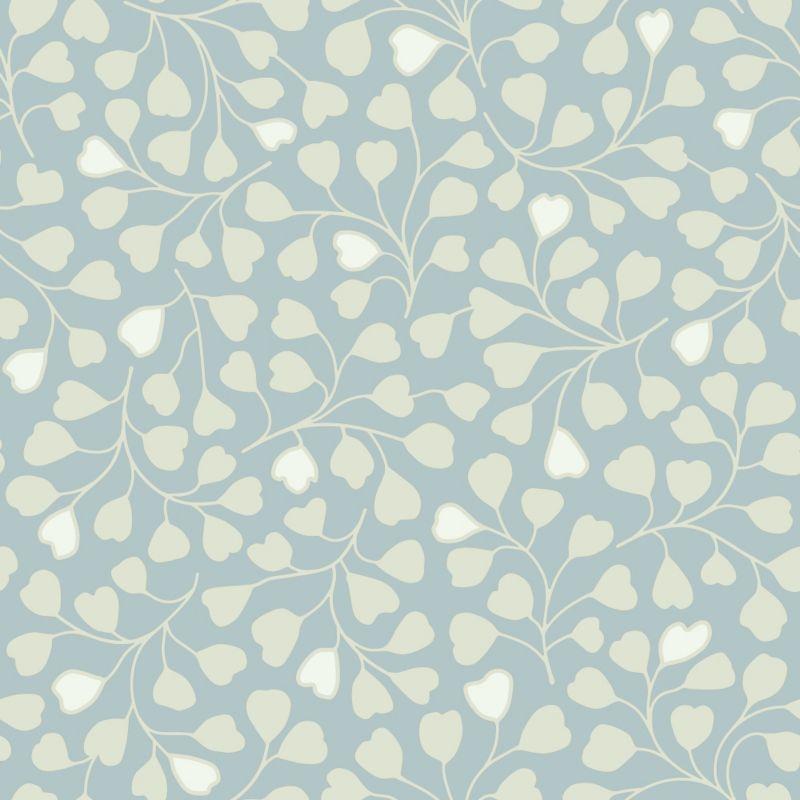 Elspeth Wallcovering Blue 10.5m