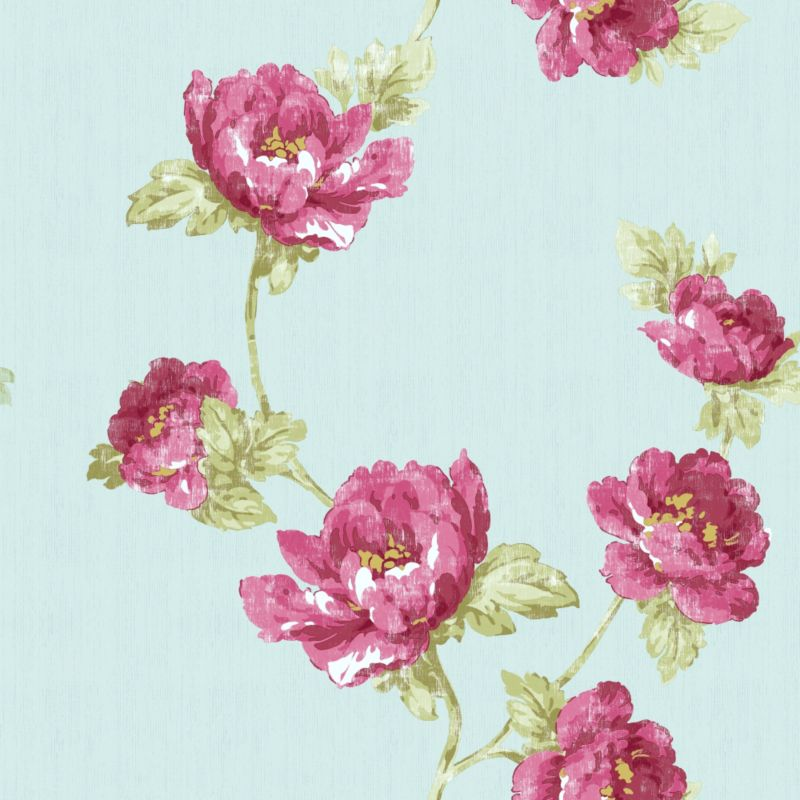 Edith Wallcovering Pink 10.5m