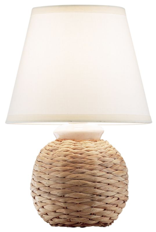 by BandQ Naomi Textured Table Lamp