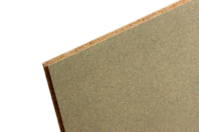 Tongue & Groove Chipboard Flooring (L)2400 x (W)600 x (T)18mm Waterproof Treated