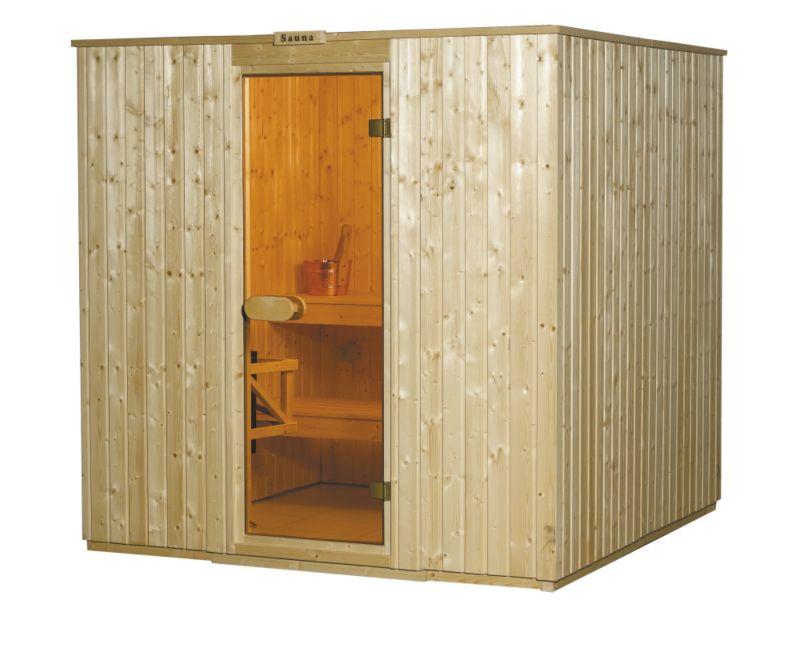 Garden Inspirations Laine Sauna (H)2m x (W)2m x (D)2m
