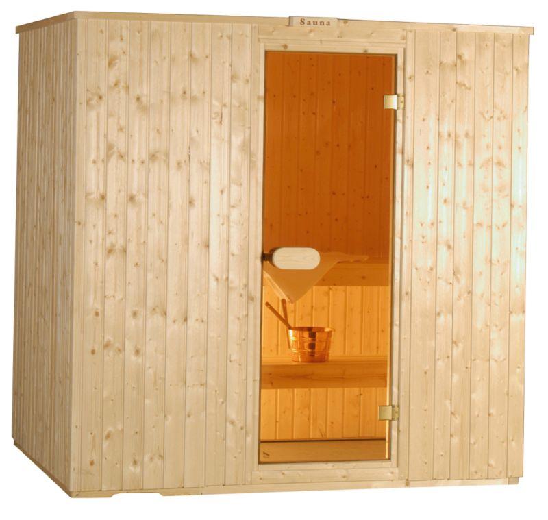 Garden Inspirations Laine Sauna (H)2 x (W)2 x (D)1.5m