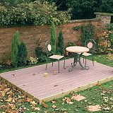 Save on this Composite Wood Effect Deck Kit Mahogany 101226