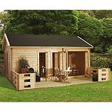 Save on this Ikkuna Log Cabin (H)3.19 x (W)6.16 x (D)4.22m