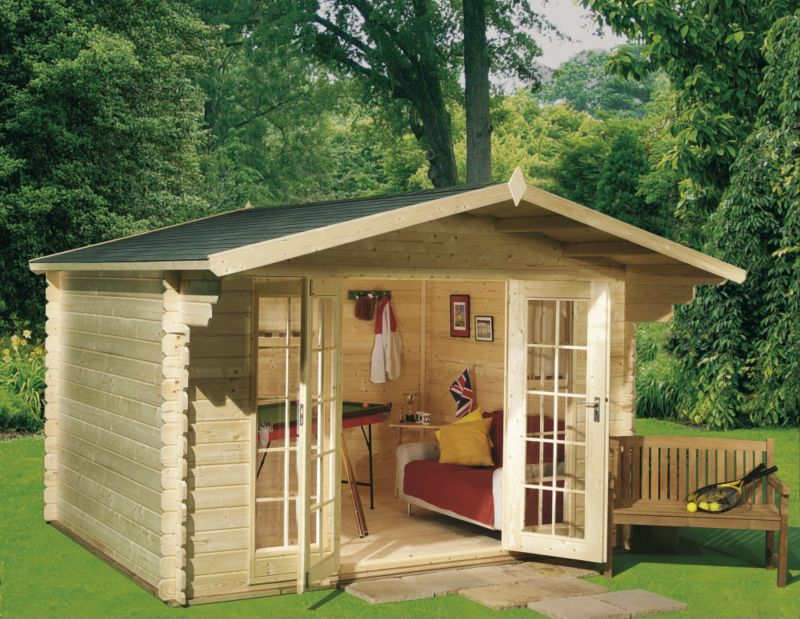 Mirva 210 Log Cabin
