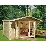 Save on this Mirva 210 Log Cabin