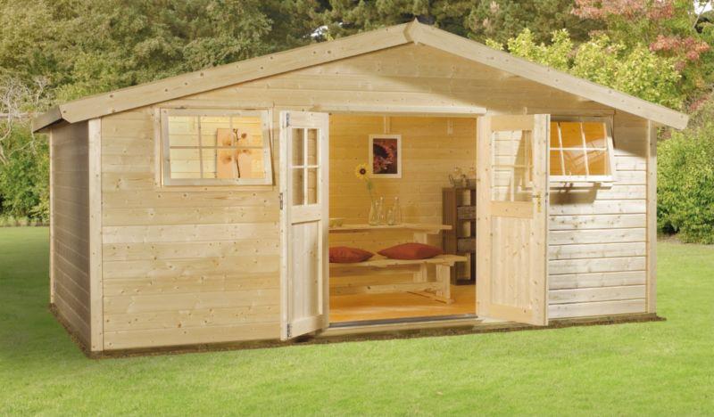 Sarka 210 Log Cabin