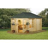 Save on this Reikko 210 Log Cabin