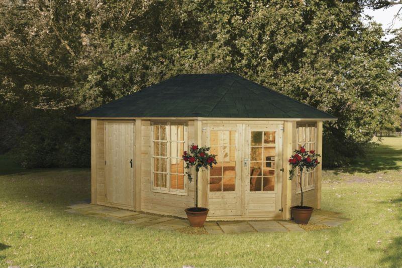Peili 210 Log Cabin