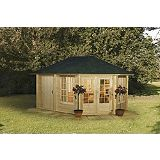 Save on this Peili 210 Log Cabin