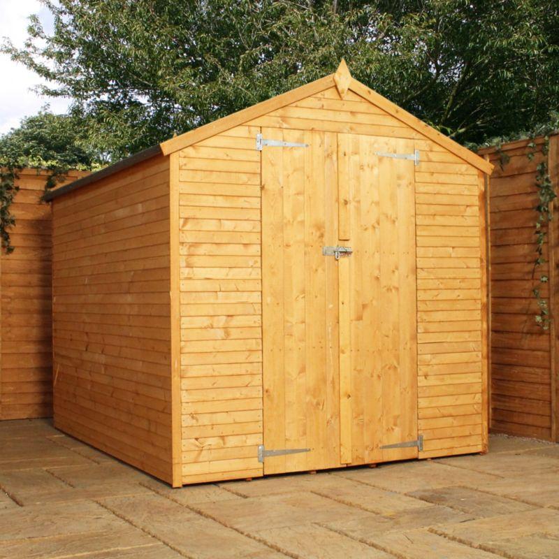 8x6 garden shed shop for cheap sheds garden furniture for Garden shed 8x6