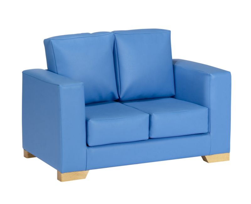 sky blue leather sofa sofa designs pictures