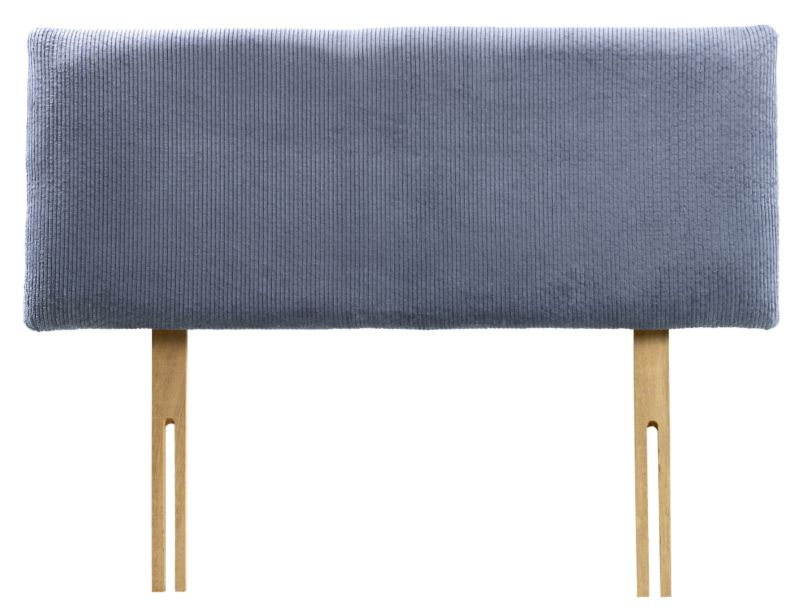 Pumpkin Single Headboard Blue Cord
