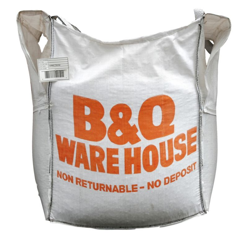 B&Q Gravel Natural Bulk Bag 20mm