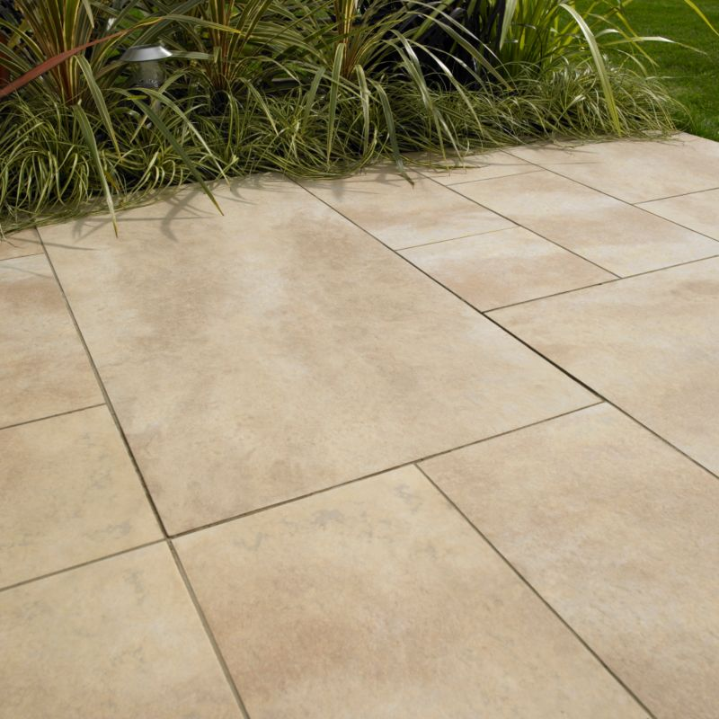 Alternative image for B&Q Kalestone Pergamon Porcelain 27800690 Multi 300 x 300mm
