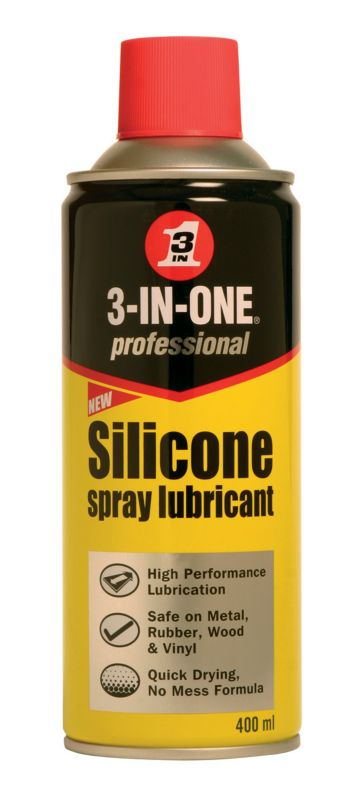 3-in-1 Oil Pro Silicone Spray Lubricant