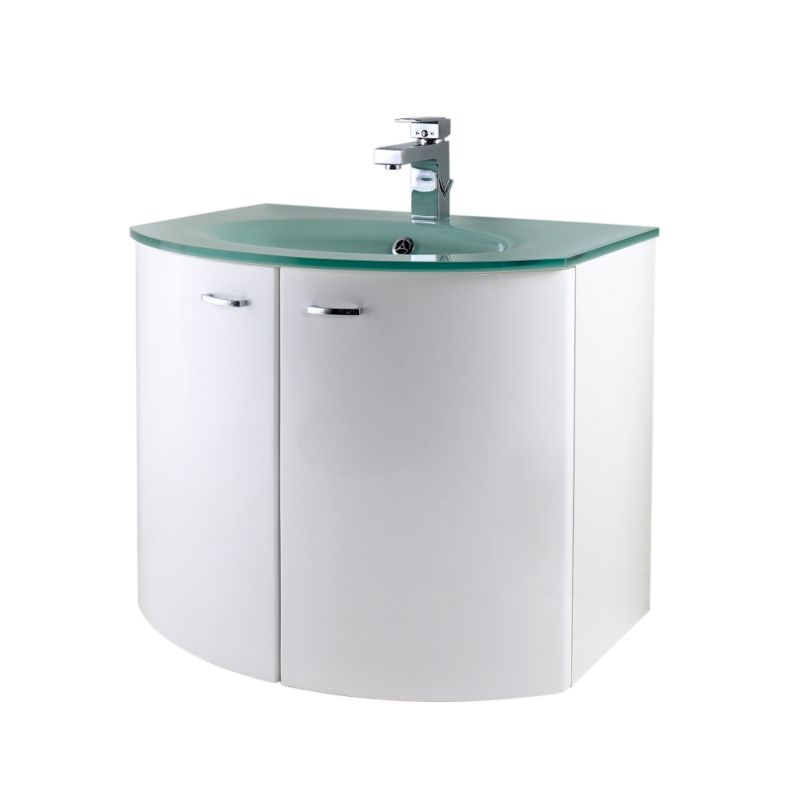 Glass Sink Vanity Unit Images