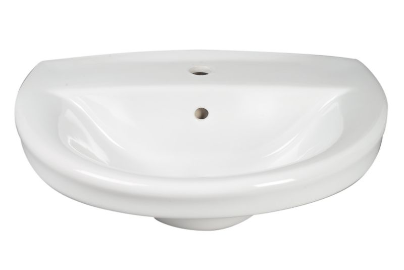 Porto Basin White (W)595 x (L)480mm