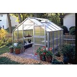 Save on this Model 9x12 - Premium Greenhouse - Aluminium Frame + Horticultural Glass + Base