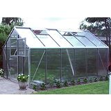 Save on this Model 9x14 - Premium Greenhouse - Aluminium Frame + Polycarbonate Glazing + Base