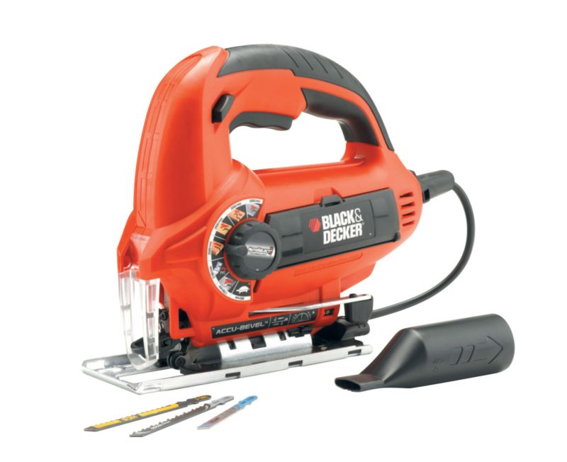 Black & Decker 520W Auto-select Jigsaw