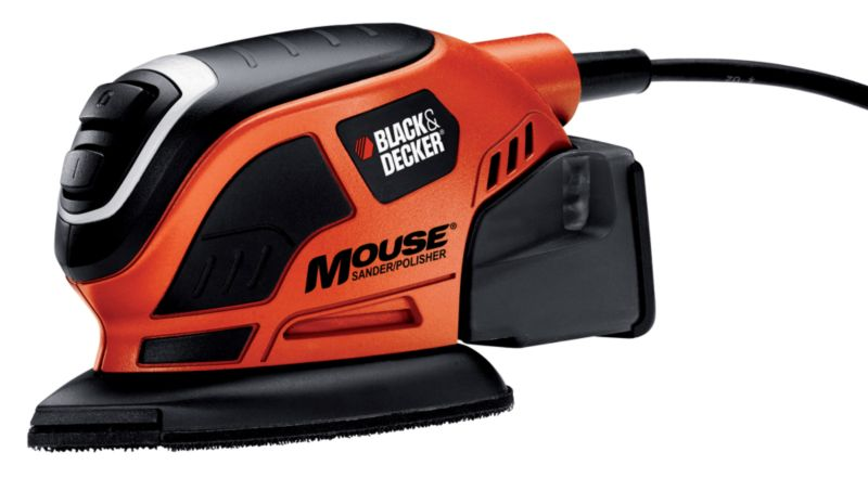 Black & Decker 55w Mouse sander with dust extraction
