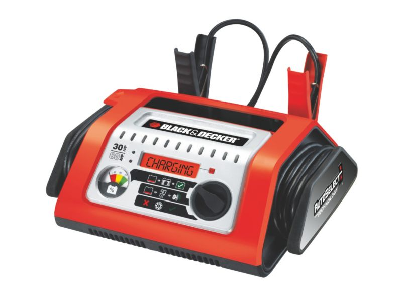 Black and Decker 30A Autoselect Battery Charger