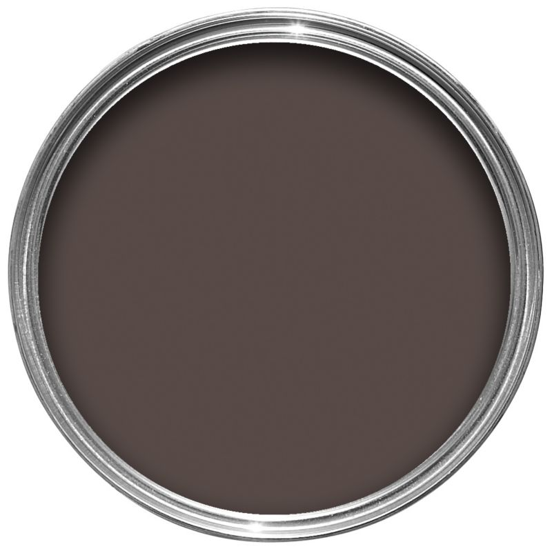 Craig & Rose Authentic Period Colours Suede Effect Paint Dark Chocolate 750ml