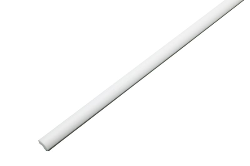 Homelux 12mm White PVC Bath Trim