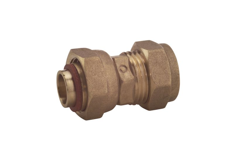 Compression Straight Tap Connector 15mm x 1 2 Inch (Female)
