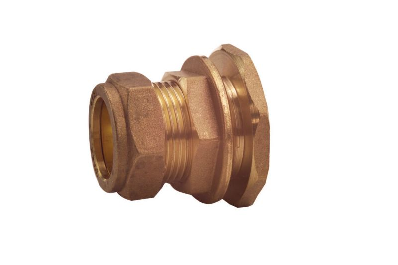 Compression Tank Connector 15mm x 1 2 Inch