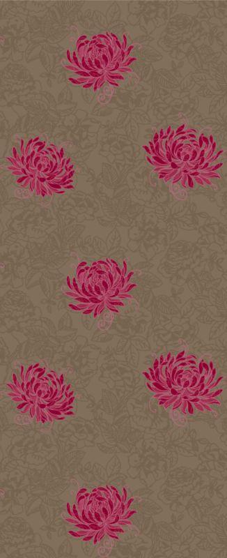 arthouse vintage wallpaper fuchsia