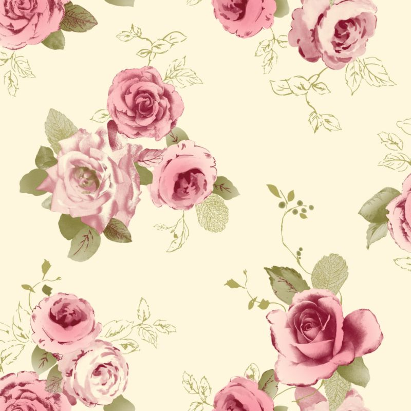wallpaper in rose pink by arthouse vintage a nostalgic classical rose ...