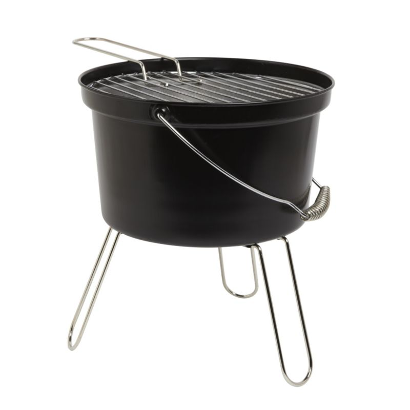 b q blooma black charcoal bucket barbecue customer reviews product reviews read top. Black Bedroom Furniture Sets. Home Design Ideas