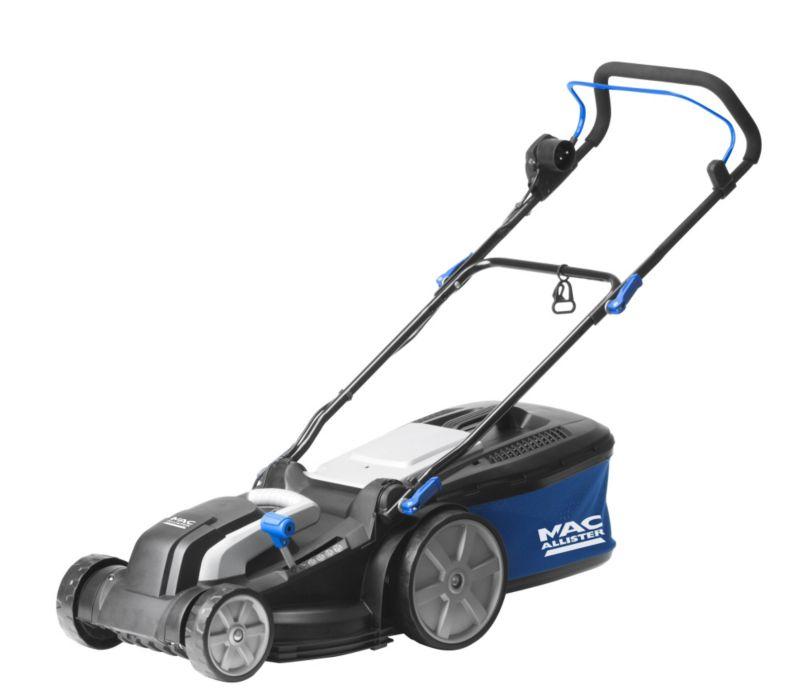 mac allister 1600w 38cm lawnmower massive bargain ebay