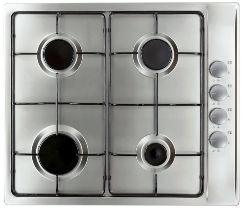 Cooke And Lewis 4 Burner Gas Hob CLGH3SS-C