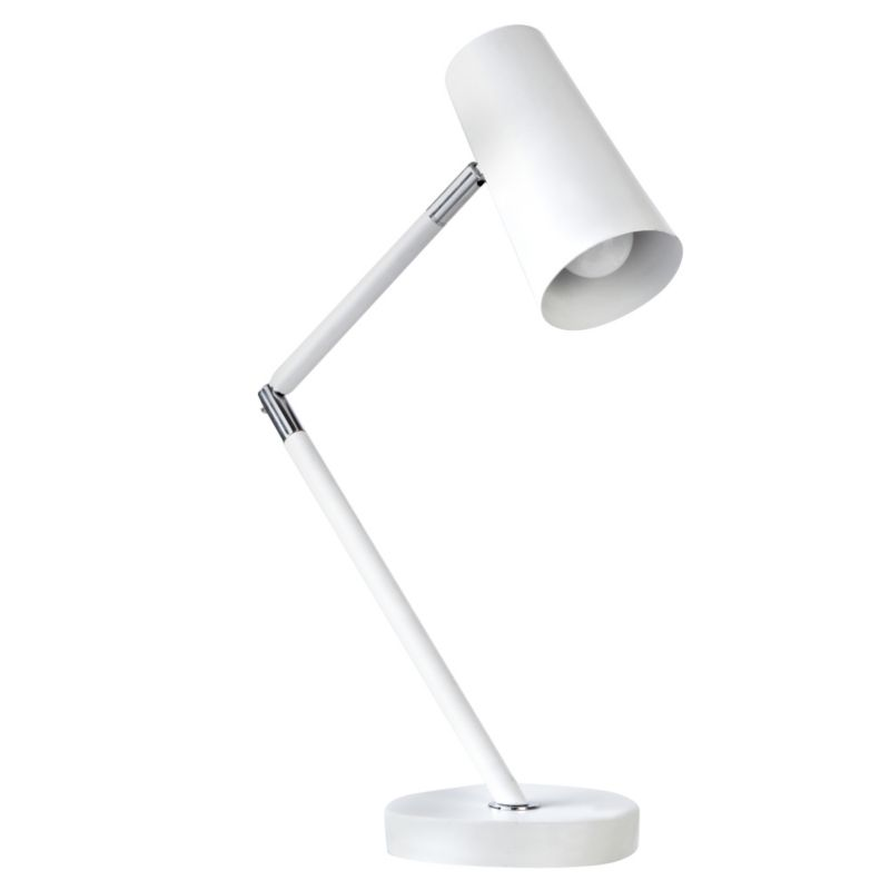 Manon White Desk Lamp