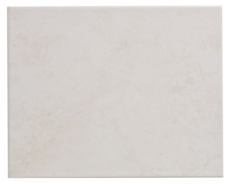 Colours Pack of 20 Light Beige Helena Wall Tiles (L)250 x (W)200mm