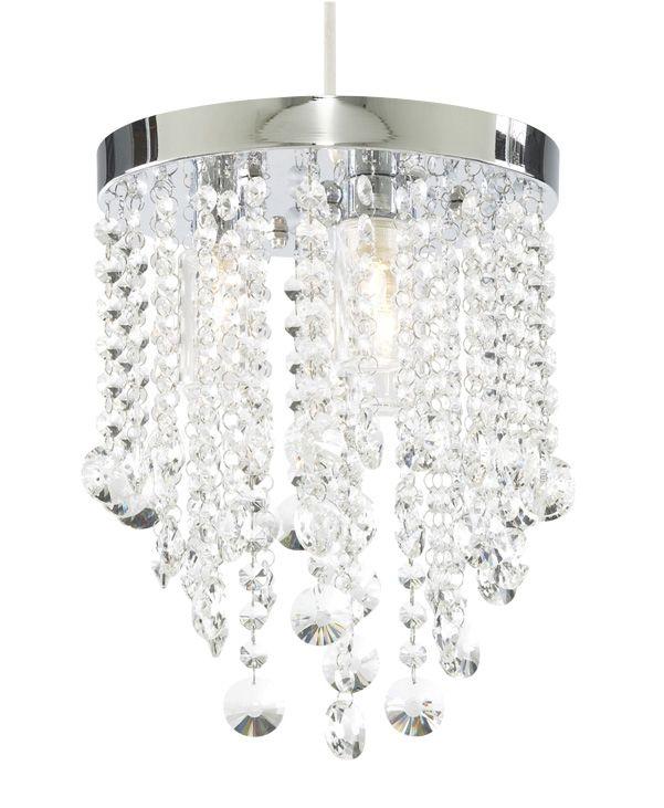Zambezi Crystal Effect Bathroom Light