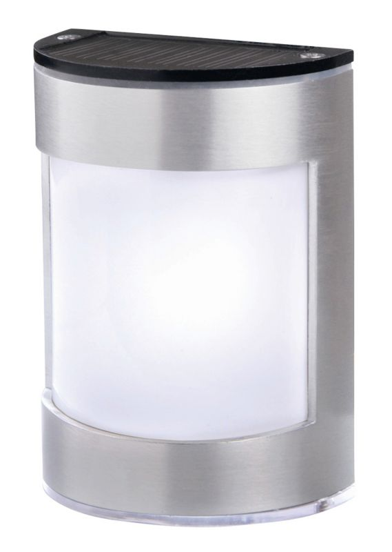 Blooma Alhena Chrome Solar Wall Light - review, compare prices, buy online