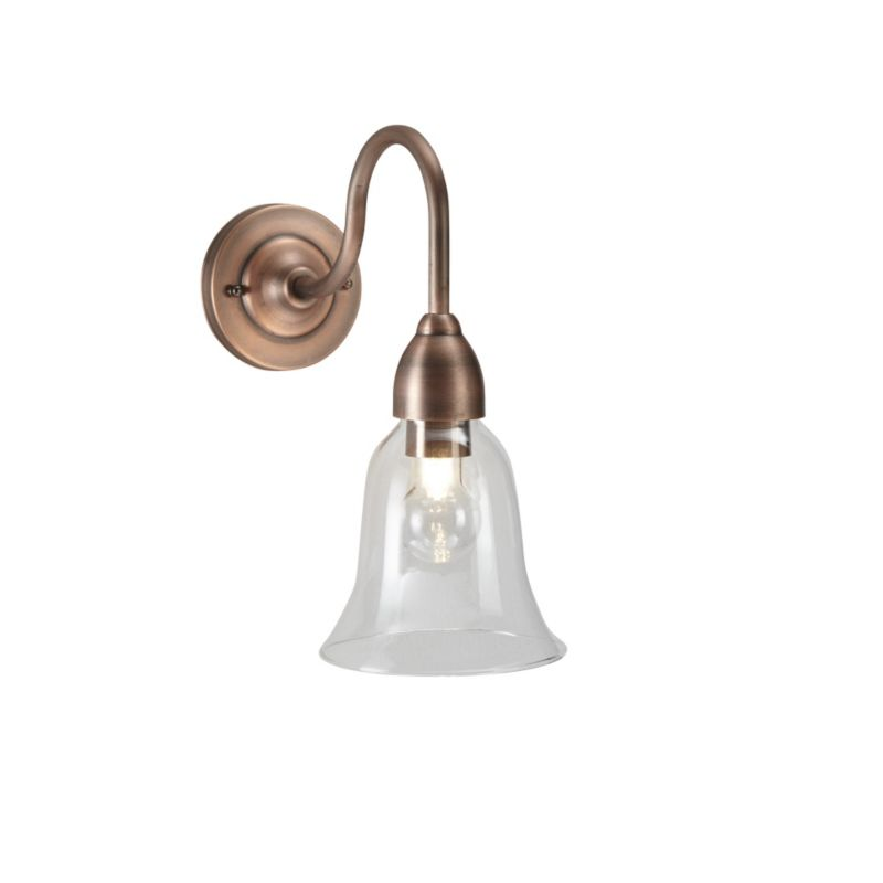Copper Effect Wall Lights : blooma home and garden lighting