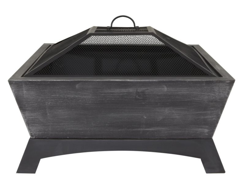 La Hacienda Vogue Steel & Mesh Contemporary Firepit