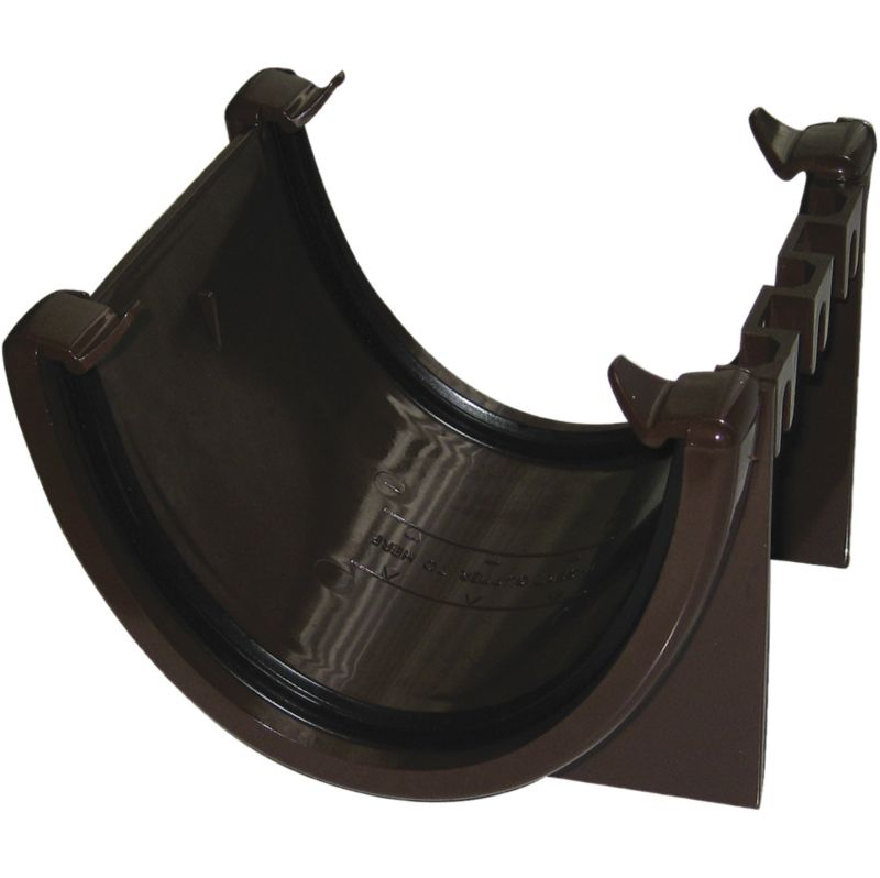 FloPlast 114mm Hi-Cap Union Bracket Brown